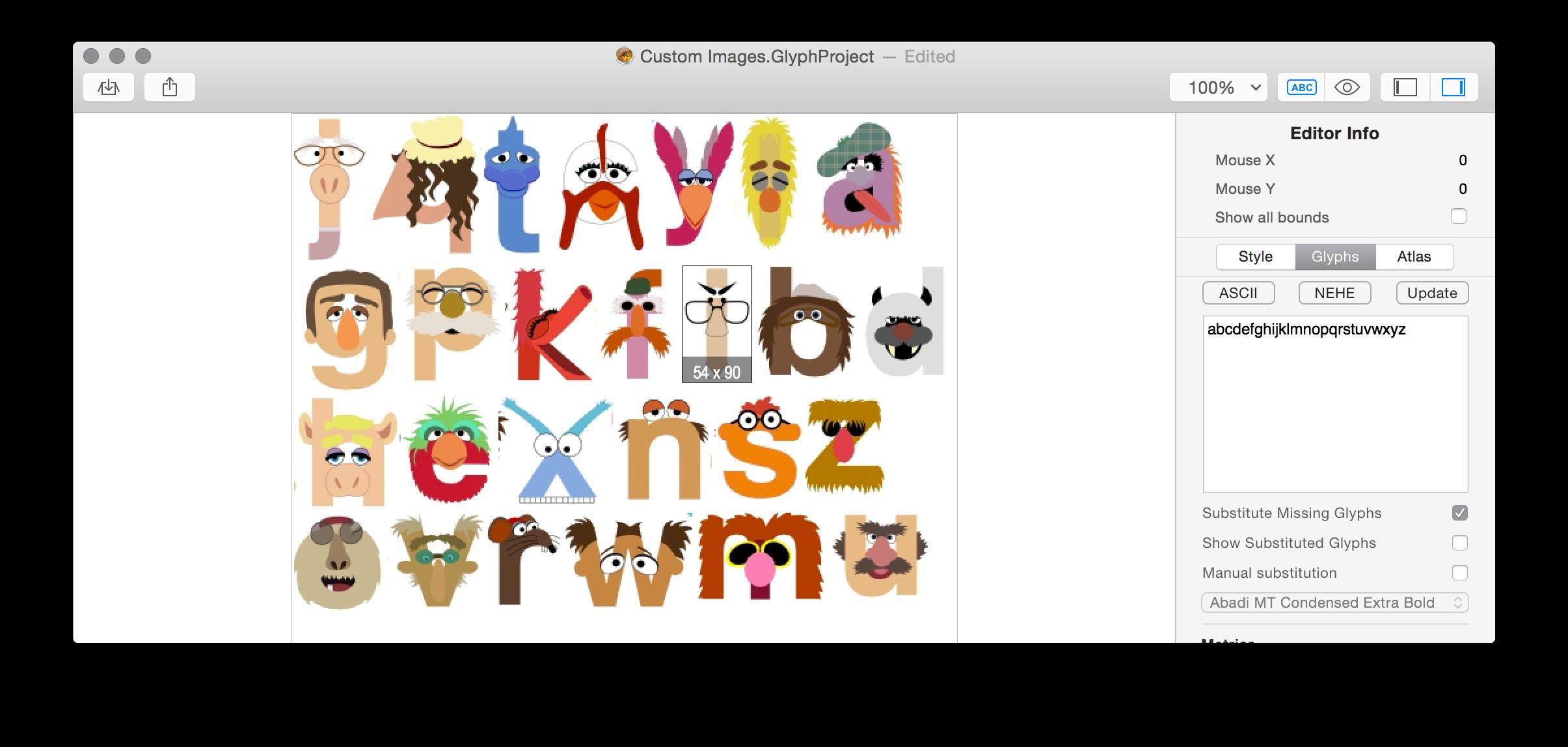 typography generator for mac